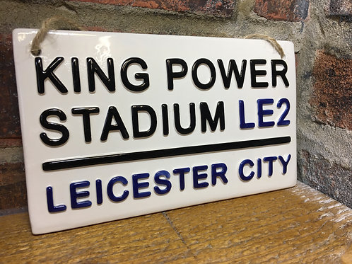 LEICESTER CITY-King power Stadium