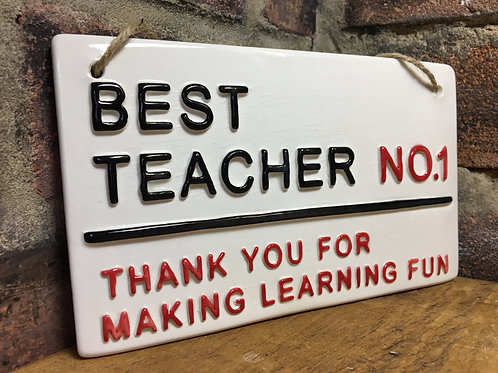 BEST TEACHER-Thank you for making learning fun