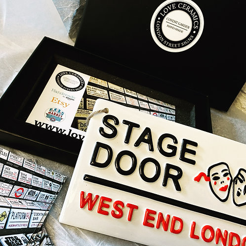 STAGE DOOR-West End London