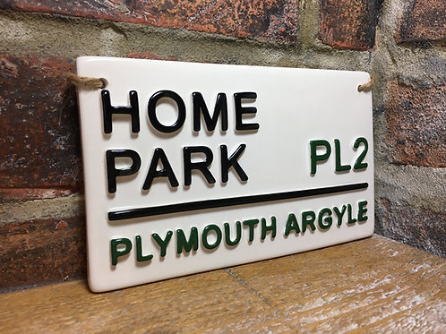 PLYMOUTH ARGYLE-Home Park
