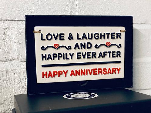 LOVE & LAUGHTER-Happy Anniversary