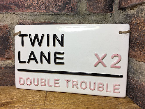 TWIN LANE- Double Trouble- Pink