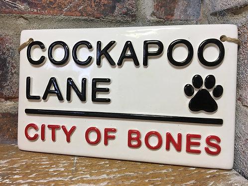 COCKAPOO LANE-City of Bones