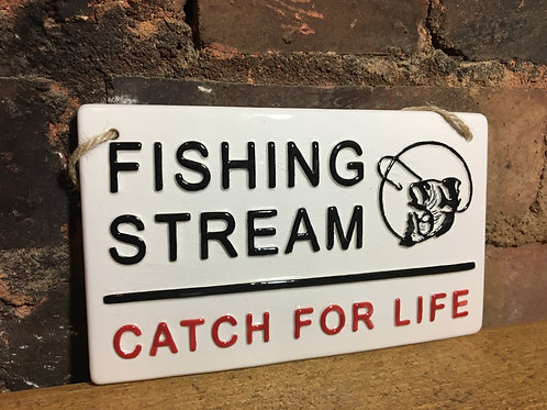 Fishing Stream- Catch For Life