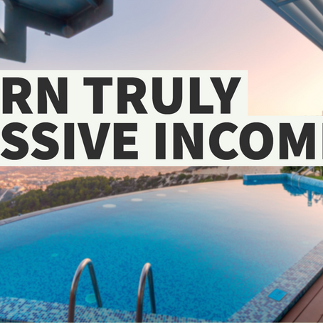 How to Earn Passive Income Online As a Newbie