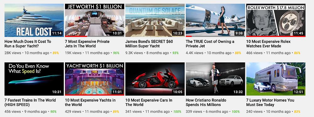 Luxury Empire Videos Uploaded