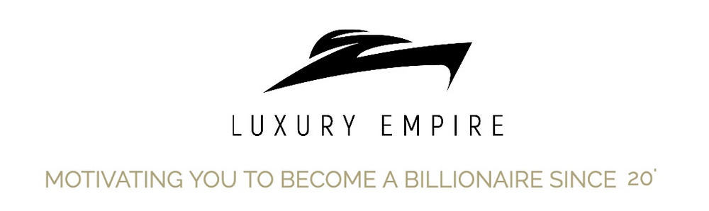 Luxury Empire Logo and Slogan