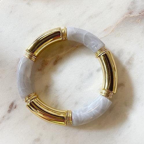 Caroline Grey & Gold Bangle