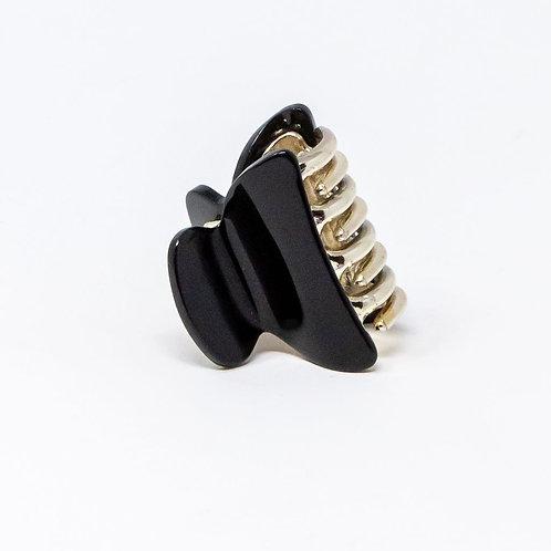 Black Medium Hair Clip
