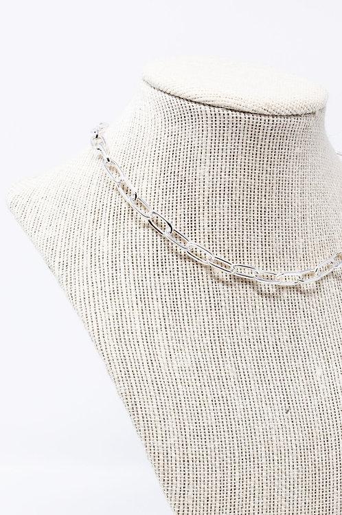 Medium Weight Silver Link Chain
