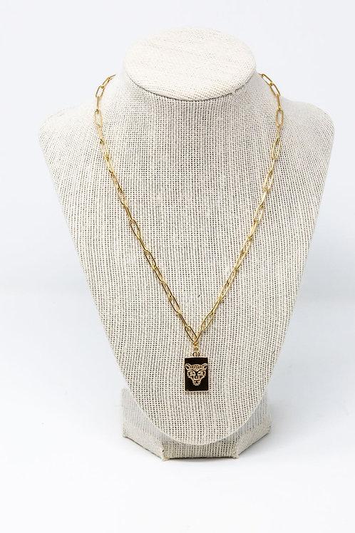 Tiger Tag Necklace