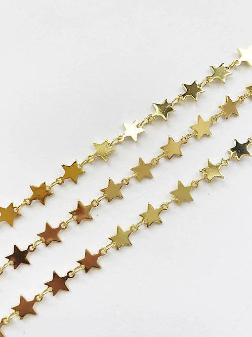 Gold Plated Star Chain