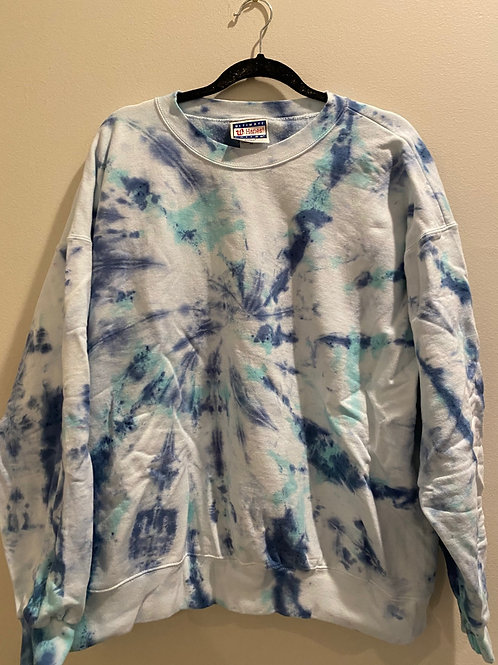 Tie Dye Crewneck (XL) XL010