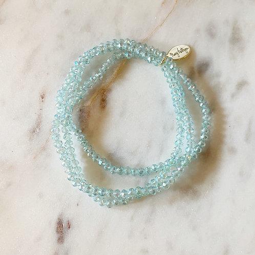 Teal Set of 3 Bracelets