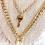 Thumbnail: Key and Lock Layered Necklace