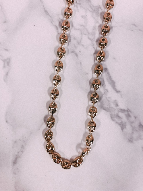 Oval Linked Necklace