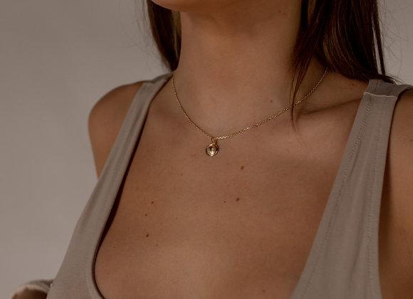 Anne 14k Cross Necklace