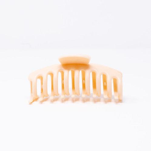 Large Peach Hair Clip