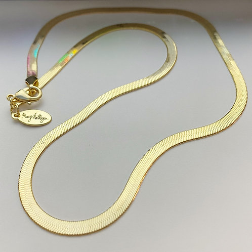 Gold Snake Chain (18in)