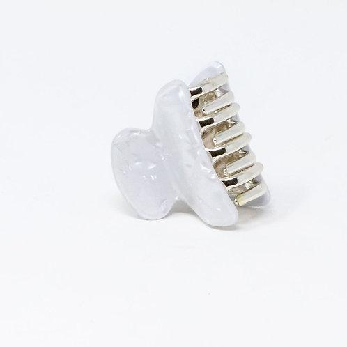 PREORDER White Shell Hair Clip