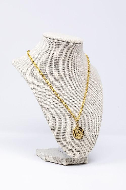 Buffalo Coin Necklace