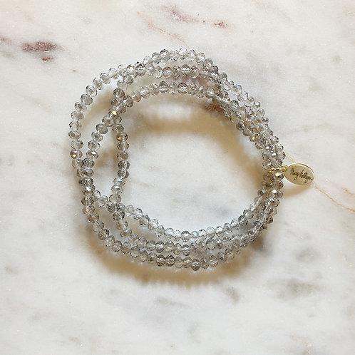 Gray Set of 3 Bracelets