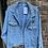 Thumbnail: Oversized Denim Jacket with Pearl Stars