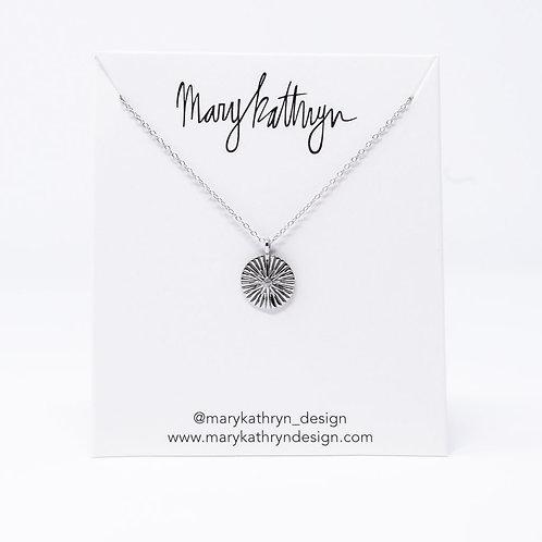 Single Stone Necklace (SILVER)