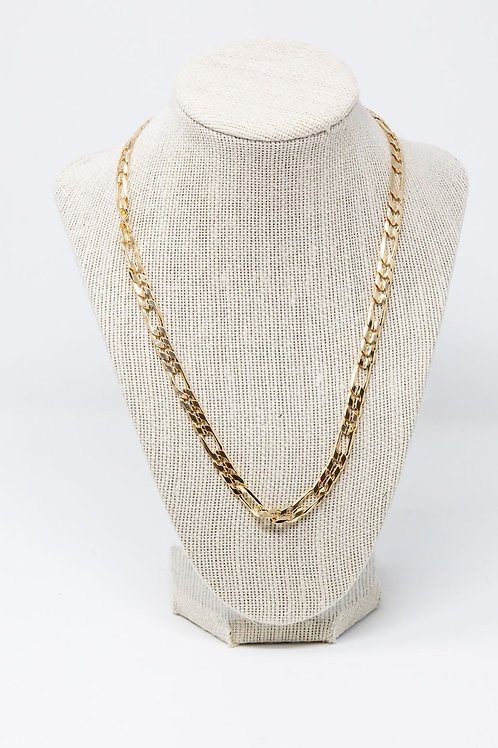Large Gold Plated Cuban Chain