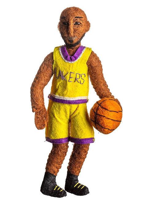 Kobe Bryant Felt Ornament