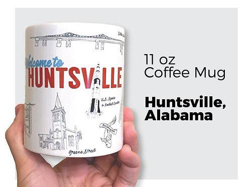 """Huntsville """"Rocket City"""" Mug"""