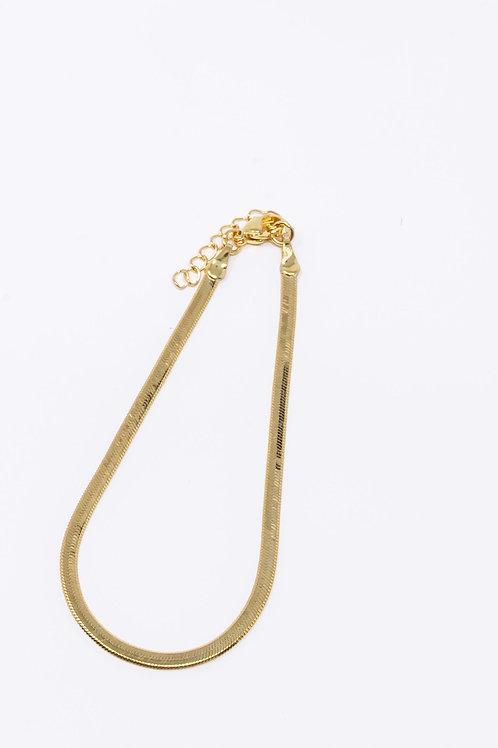 Skinny Herringbone Bracelet