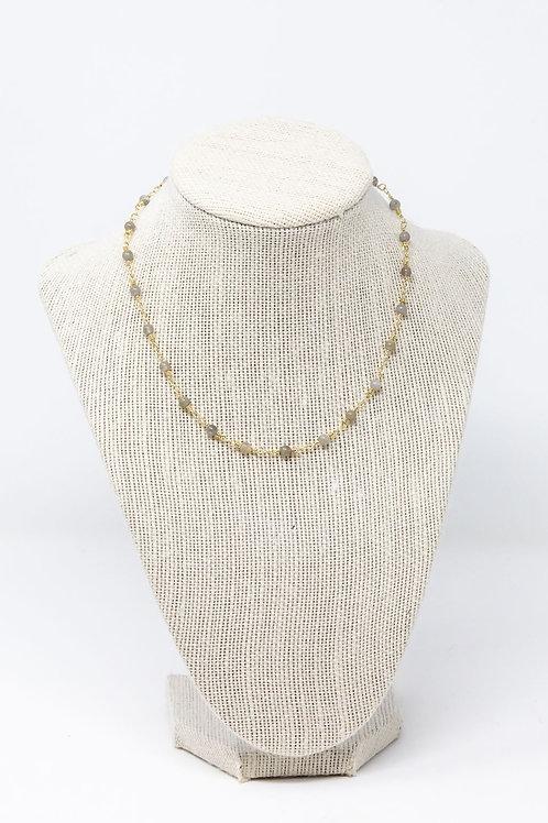 Labradorite Beaded Chain