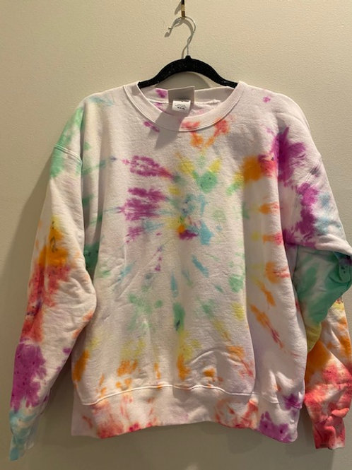 Tie Dye Crewneck (MEDIUM) M001