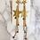 Thumbnail: Glitter Long Star Earrings