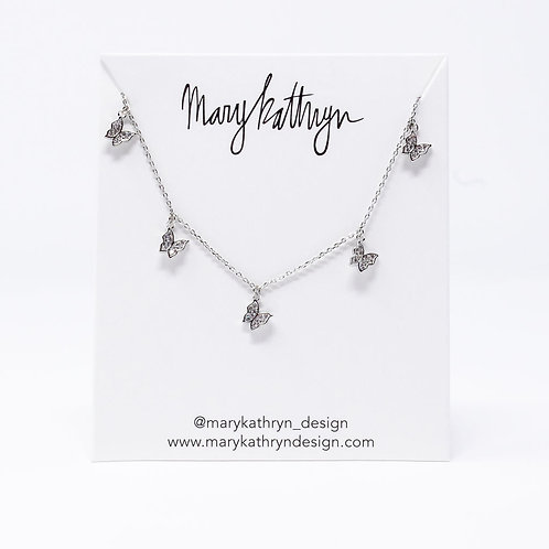 Nadia Silver Necklace