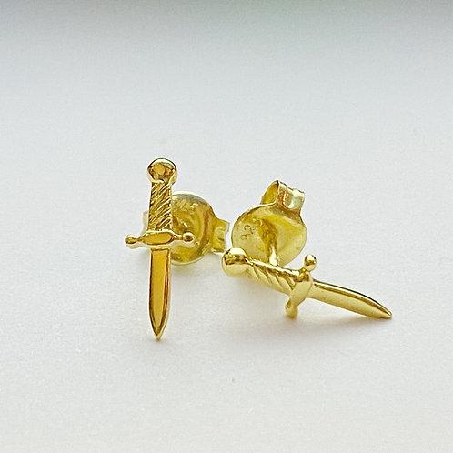 Dagger Stud Earrings