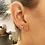 Thumbnail: Single Initial Earring