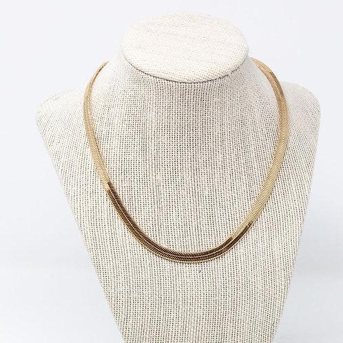Thick Gold Herringbone Chain