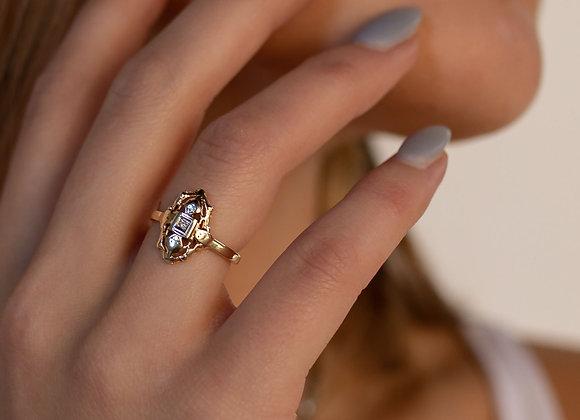 Josephine 14k Diamond Ring