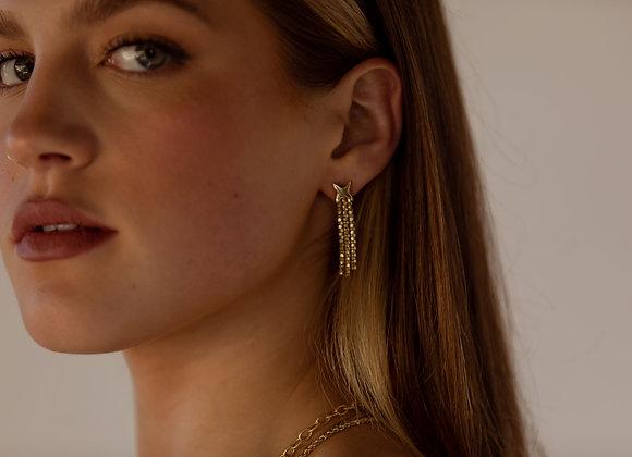 Whitney 14k Gold Earrings
