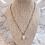 Thumbnail: Freshwater Pearl on Labradorite Chain