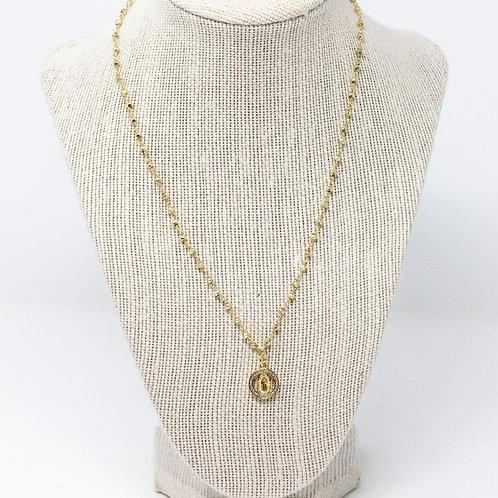 Gold Pyrite Saint
