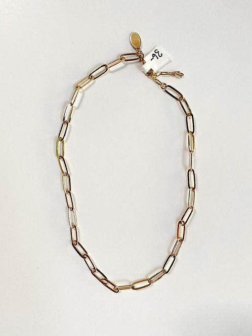 Medium Weight Gold Link Chain