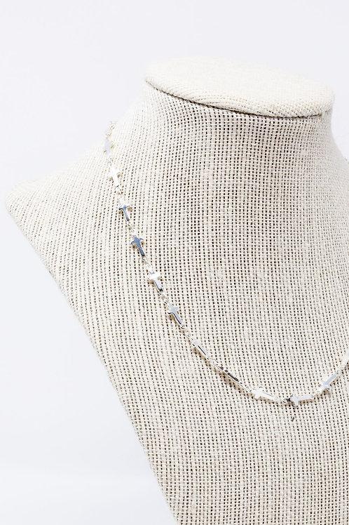 Silver Cross Chain