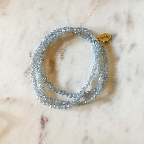 Baby Blue Set of 3 Bracelets