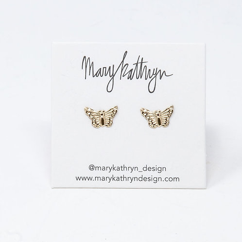 Medium Butterfly Studs