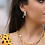 Thumbnail: Iridescent Rhinestone Hoop Earrings