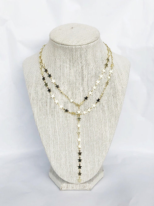 Double Layer Star Lariat