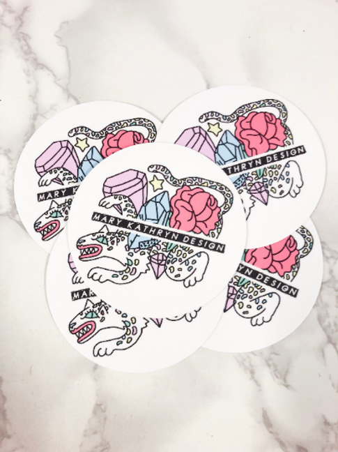 Mary Kathryn Design Sticker